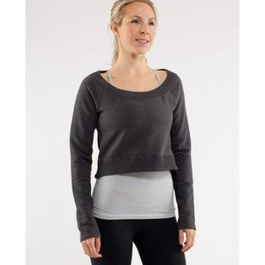 Lululemon Good Karma Pullover Crop Sweatshirt